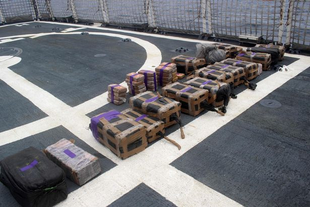 US Coast Guard intercept submarine carrying six tones of cocaine worth ?133 million
