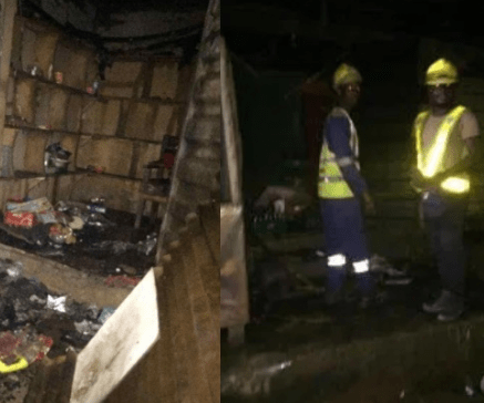 No casualties?as late night fire destroys many?shops in Lagos gas explosion