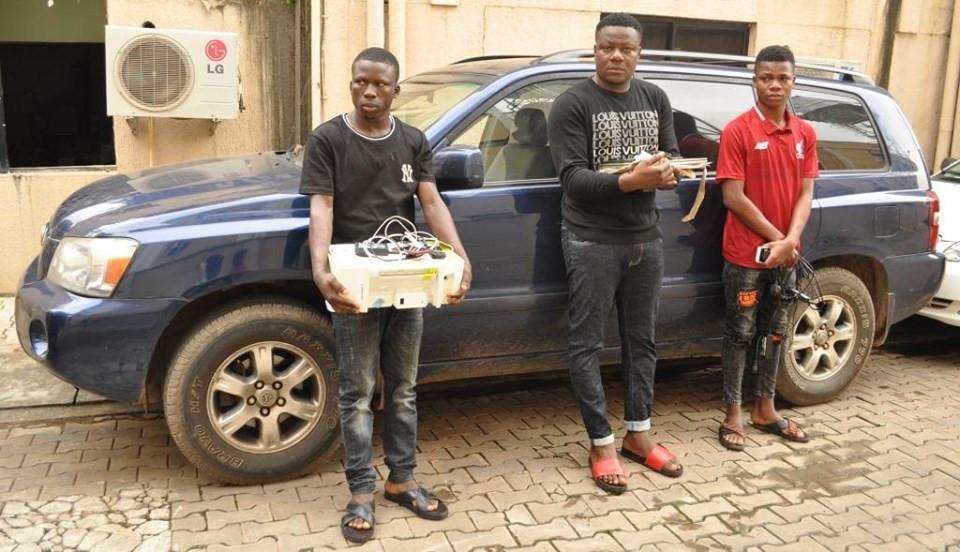 EFCC arrests 6 suspected internet fraudsters in Abuja lindaikejisblog 1