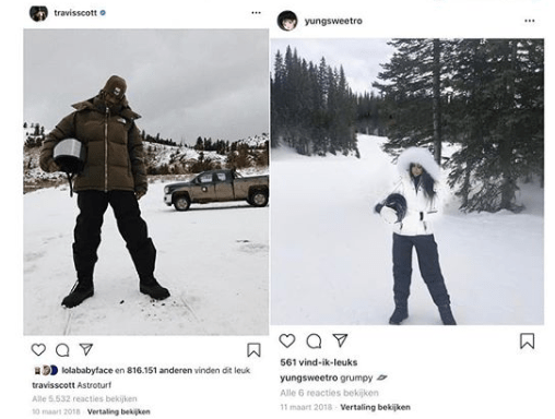 Travis Scott has allegedly been with his side chick for years...... or is Kylie Jenner the side chick? (see proof)