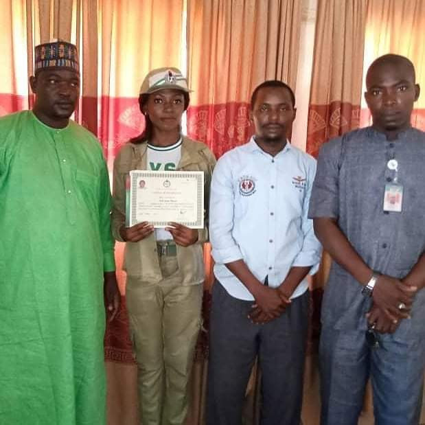 Youngest Commissioner-nominee Joana Nnazua Kolo, 26, rounds up her NYSC programme in Jigawa (photos)