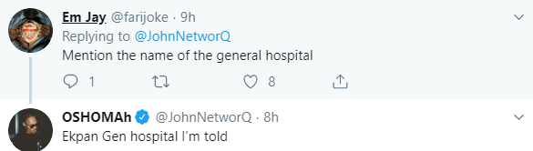Twitter story: Man shares the shocking thing a doctor in a general hospital did to his brother