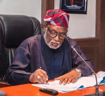 Governor Akeredolu sacks aide with immediate effect over 'misconduct'