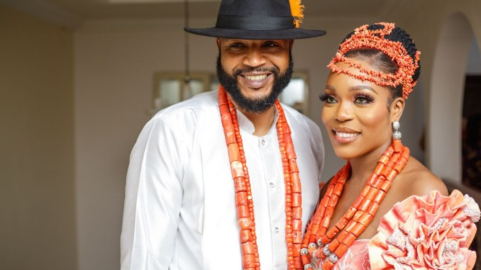 Photos from Lolavita hair CEO, Lola Udu's traditional wedding in Abia State