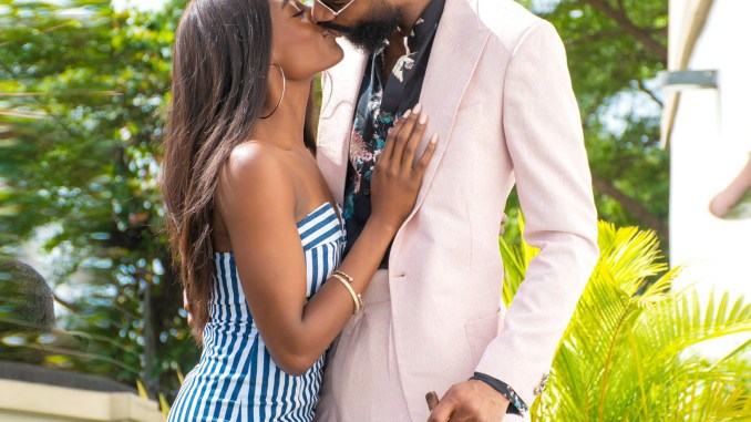 Big Brother Naija star Mike and his wife Perri Shakes-Drayton lock lips in new loved-up photo