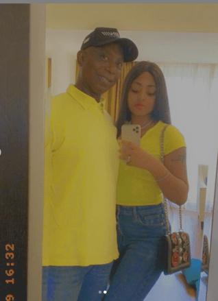 Regina Daniels and Ned Nwoko twinning in new photos