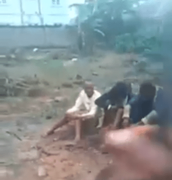 "Fake Anambra pastor caught trying to plant ""idol"" while conducting family deliverance for his member (video)"