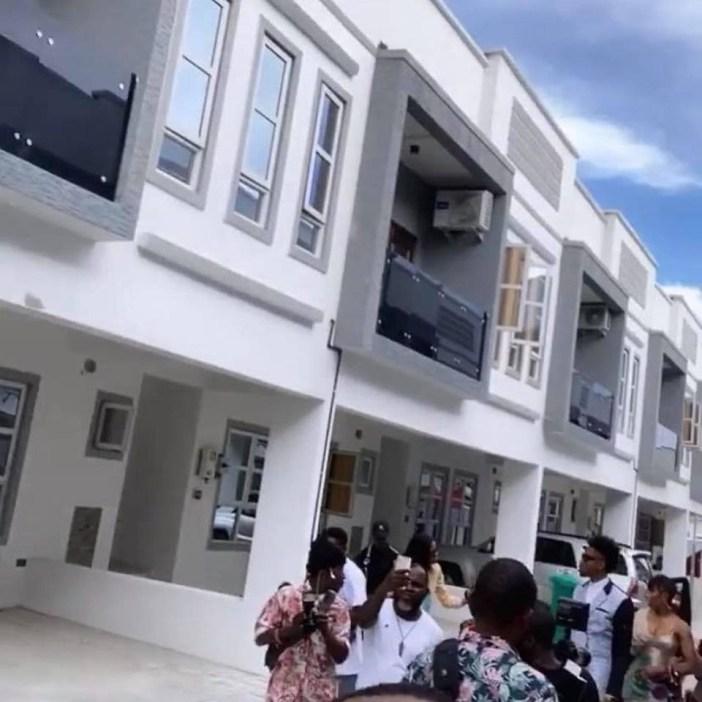 BBNaija winner, Mercy bought the 4-bedroom duplex (see photos of her new house)
