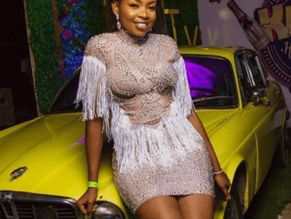 BBNaija's Cindy called out for allegedly wearing a 'free dress and not fulfilling an agreement'