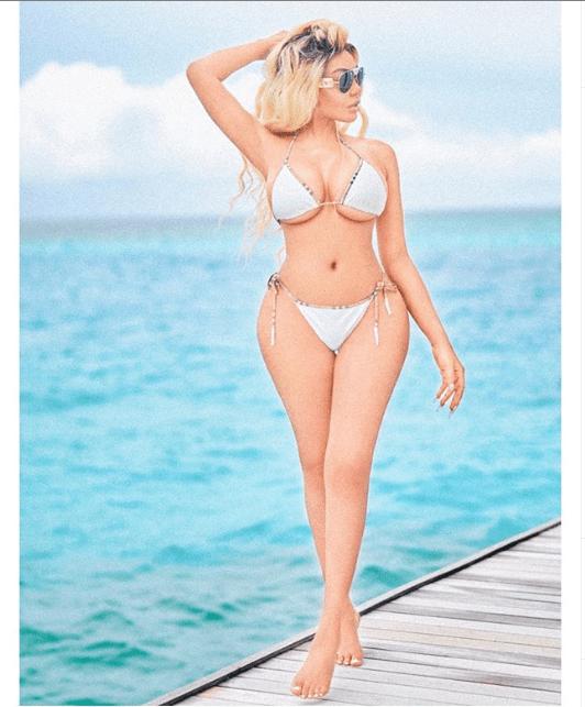 Singer Dencia stuns in sexy bikini photos