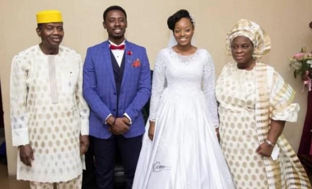 Photos from wedding ceremony of Mike Bamiloye