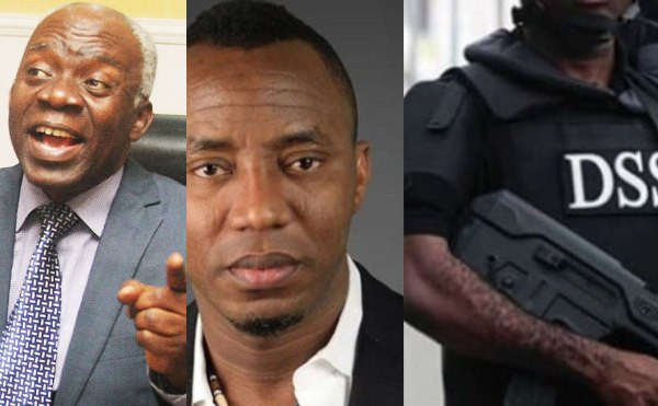 We shall meet in court - Falana tells DSS for allegedly refusing to release Sowore the second time