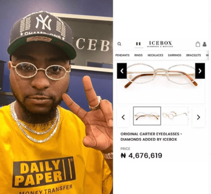 Photo: Davido rocks custom made