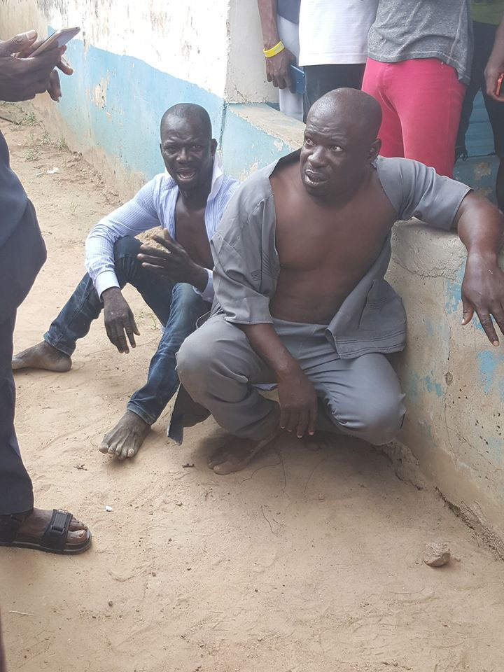 Two men nabbed after hypnotizing their victim and taking all he had in Lagos (video)