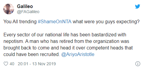 #ShameonNTA is trending on Twitter and here is the reason why