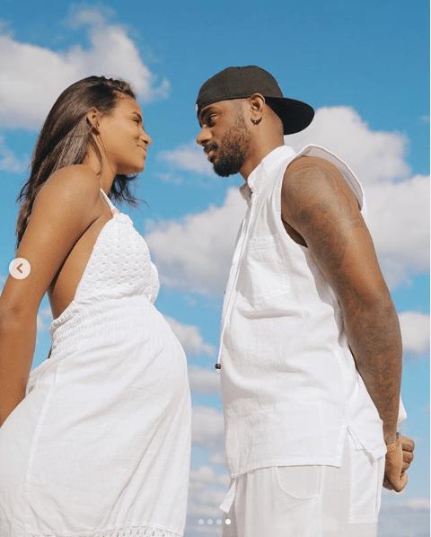 R&B singer Bryson Tiller shares stunning photos from his pregnant girlfriend Kendra Bailey