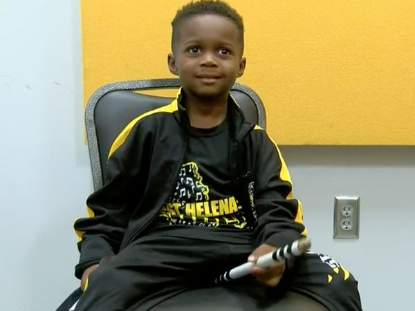 See this 5-year-old drummer genius who just landed full college scholarship 13 years before his high school graduation (photos/video)