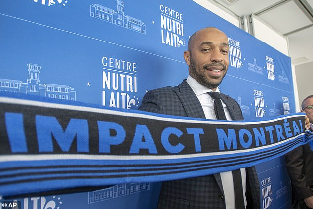Thierry Henry officially unveiled as new coach of?Montreal Impact (Photos)