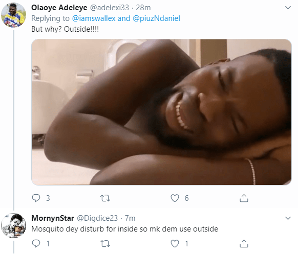 Nigerian students caught pants down having sex in an open space (+18 video)