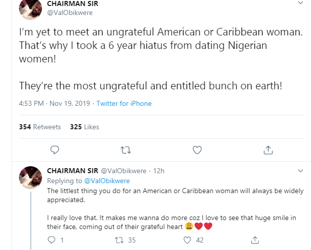 I stopped dating Nigerian women 6 years ago because they are ungrateful and an entitled bunch - U.S-based Nigerian man