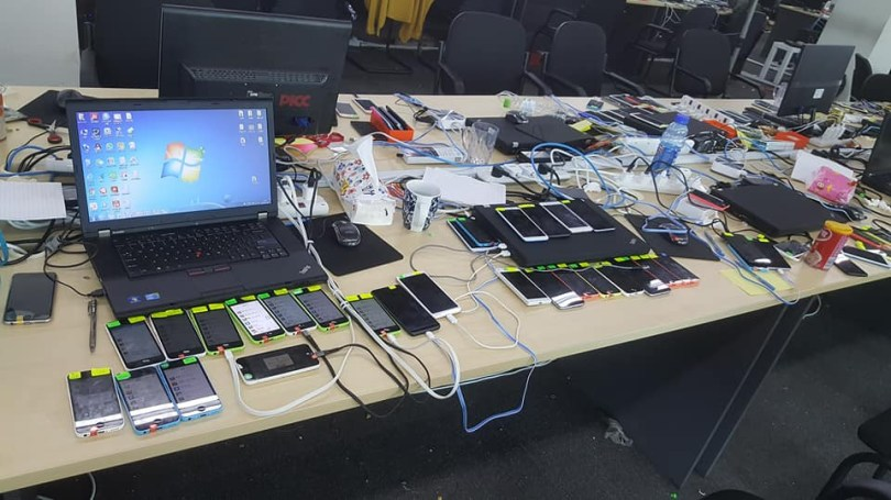Largest online scam syndicate busted in Malaysia as nearly 1000 Chinese nationals are arrested (See photos & Videos)