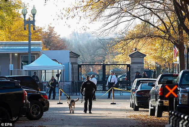 White House and Capitol are put on lockdown as