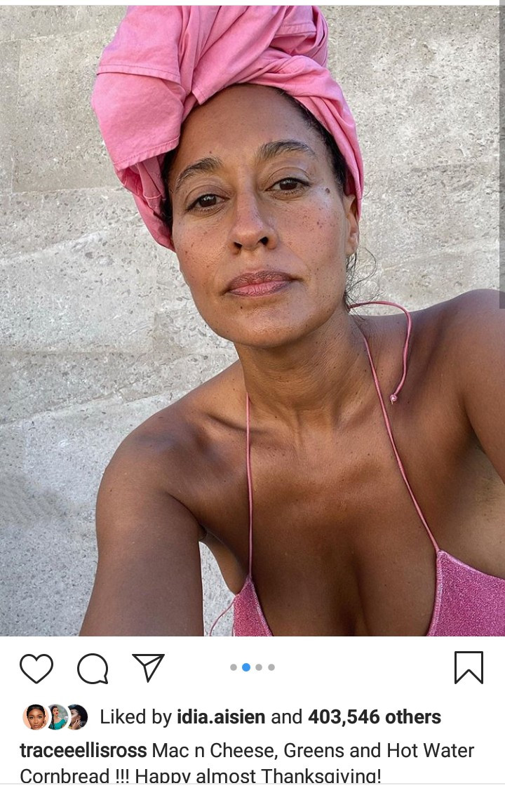 Tracee Ellis Ross, 47, shows off her incredible body in new bikini photos