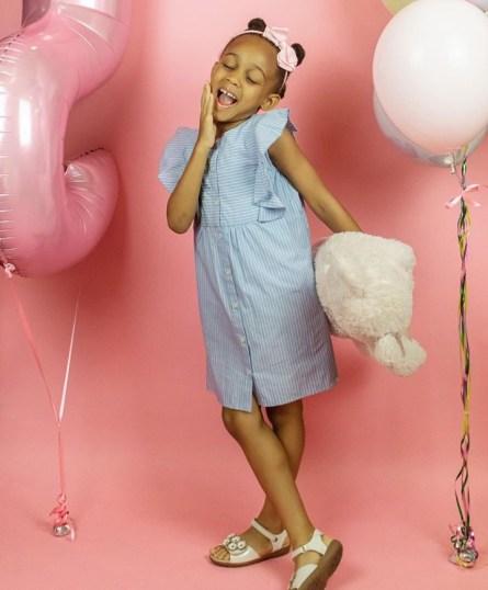 Jude Okoye celebrates his first daughter as she turns 5