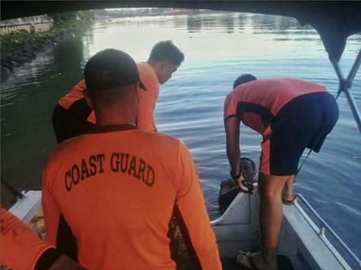 Update: Man rescued by Philippine Coast Guard claims he was handcuffed by unknown persons, escaped and jumped into river to save himself