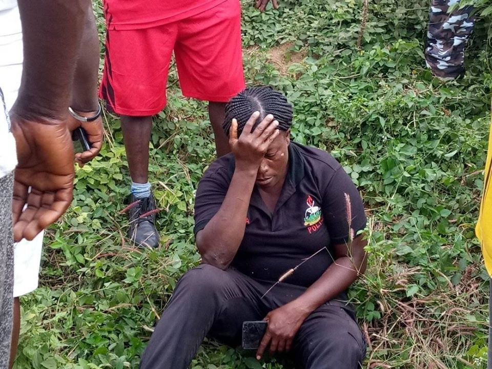 Policemen rescued after being involved in an accident in Ebonyi