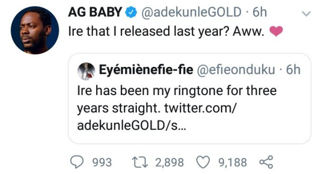 Check out Adekunle Gold