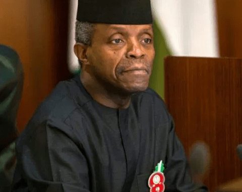 Nigerians call out VP Yemi Osinbajo over re-arrest of Omoyele Sowore