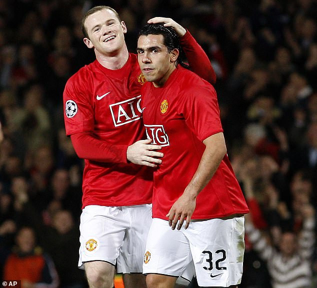 Carlos Tevez reveals Rooney gave him his own Lamborghini when Man Utd team-mates teased him about driving an Audi