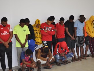 16-year-old boy among 29 suspected fraudsters arrested for Internet Fraud in Imo State (Photos)