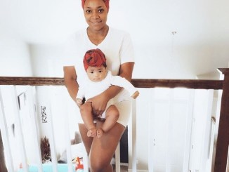 """""""I'd rather be a single mom than show my children an unhappy marriage"""" Juliet Mgborukwe says as she twins with baby girl"""