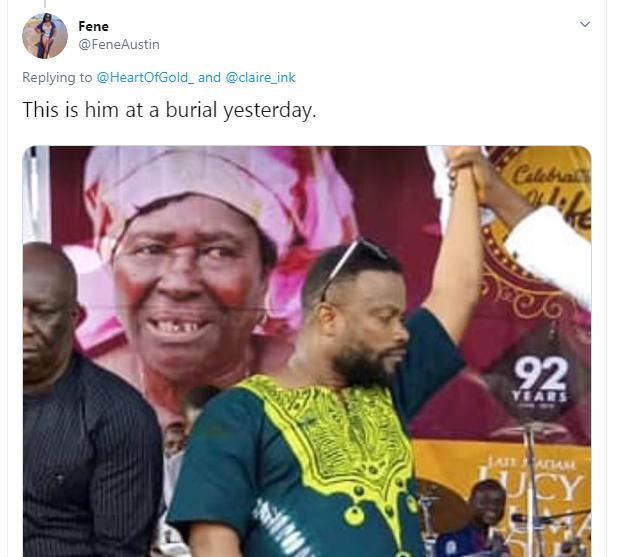 Twitter users accuse Bishop Umoh