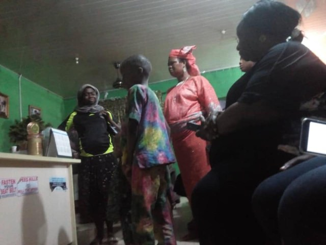 Nigerian woman who allegedly turned her step-daughters into sex slaves arrested in Lagos (photos)