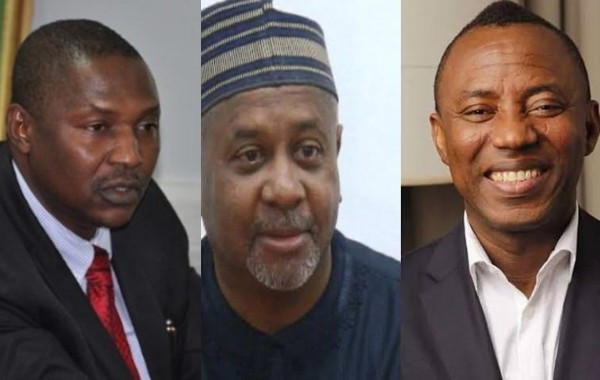 We did not receive any letter from US Congress - AGF Abubakar Malami speaks on Sowore and Dasuki