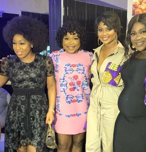 Pregnant Mercy Johnson, Rita Dominic, Kate Henshaw, others turn up for Uche Jombo
