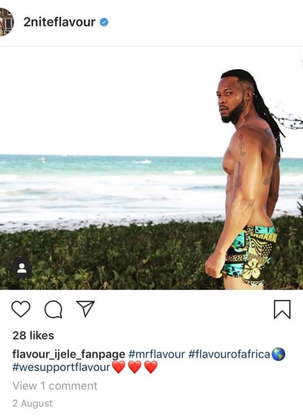 Anna Banner deactivates her Instagram account after sharing loved up photo with Flavour