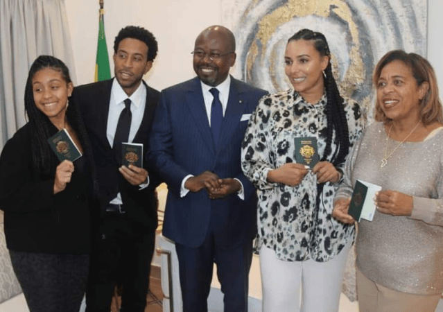 American rapper, Ludacris and?his entire family become citizens of Gabon (Video)