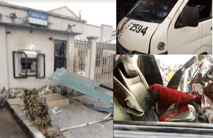 Police officer allegedly shoots corps member dead and injures driver during an argument in Bayelsa (graphic photo)