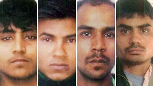 Indian gang rapists who raped and killed a female student on a moving bus are all to be hanged