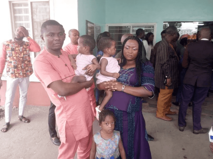 Nigerian doctors separate conjoined twins (photos)