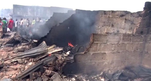 Fires razes over 400 shops in Anambra (photos)