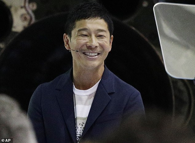 Japanese billionaire, 44,?Yusaku Maezawa is searching for a?new girlfriend to join him on six-day flight around the moon