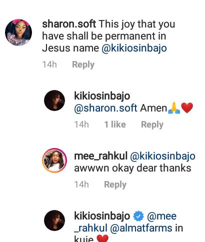 Kiki Osinbajo showered with prayers and good wishes as she flaunts her boyfriend (photos)