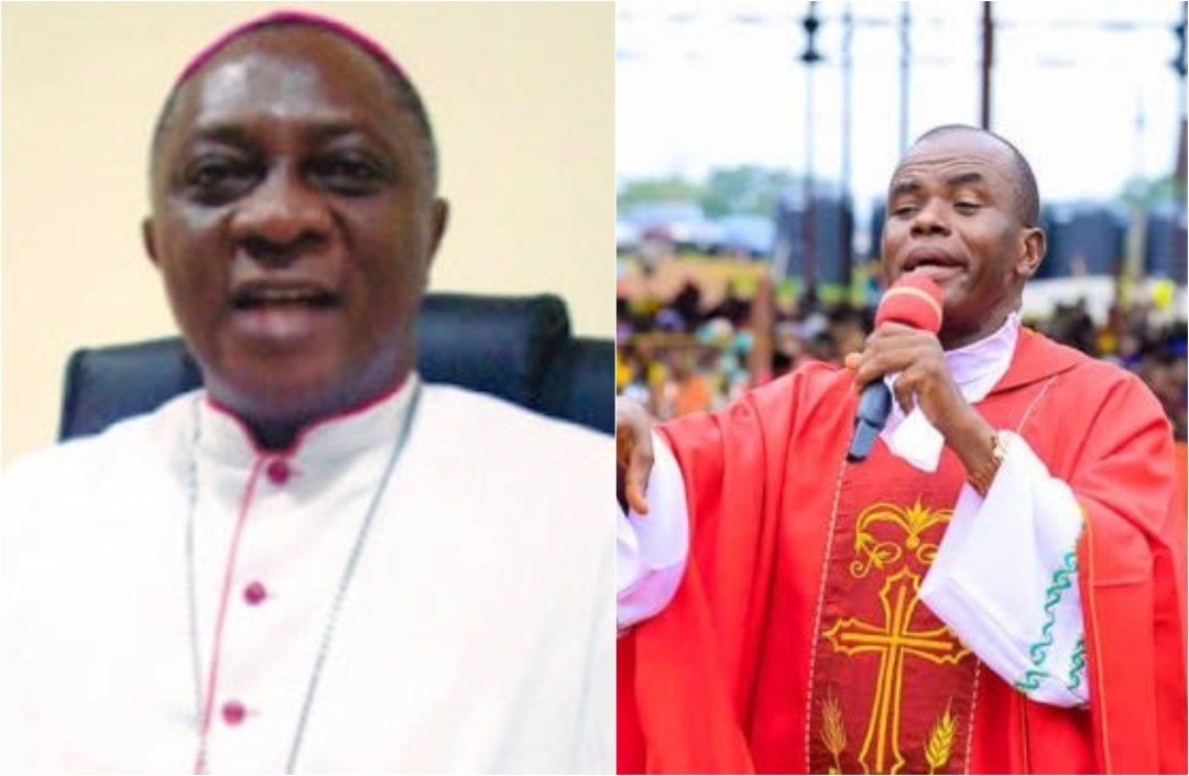 Catholic church may bar Father Mbaka from preaching ? Archbishop Adewale Martins