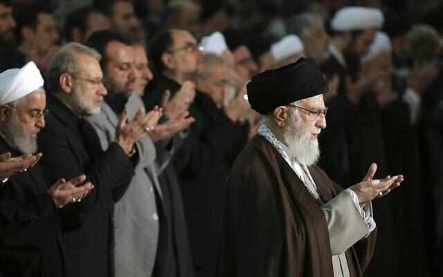 Le chef suprême de l'Iran appelle Trump un