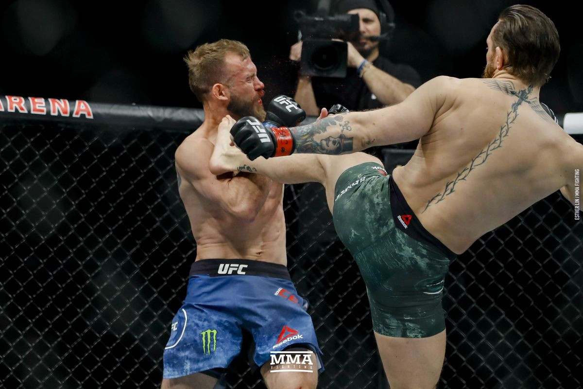 UFC star Conor McGregor beats Donald Cerrone by TKO in 40 seconds (Photos/Video)